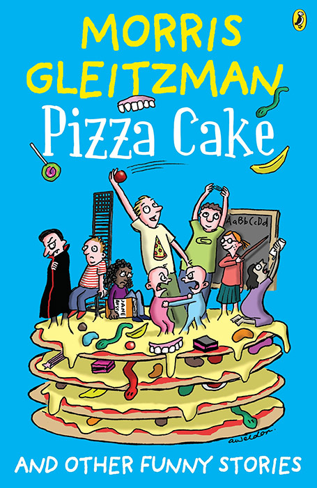 Book cover - Pizza Cake
