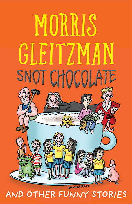 Book cover - Snot Chocolate